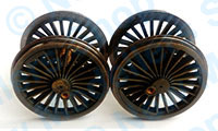 X9947W - Hornby Spares - Loco Drive Wheel Set - T9 (Weathered)