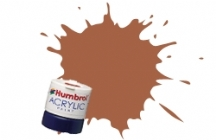 Humbrol - Leather Matt Acrylic Paint 12ml Tinlet - AB0056