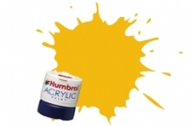 Humbrol Paints - Rail Colours - RC407 Warning Yellow