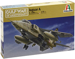Italeri - Jaguar A - Gulf War - 1:72 (No. 1386)