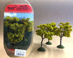 CST7 - Javis - Countryside Trees 3x 100mm (OO Scale)