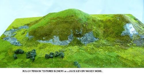 Javis BZDESERT Wargames Battle Zone Desert Mix Scenic Scatter Material 2nd Post