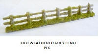 Javis - PF6 - Old Weathered Fencing Grey