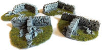 Javis - PW1CORN - OO Roadside Dry Stone Walling Courners