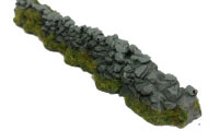 Javis - OO Damaged Farm Rough Walling - Grey