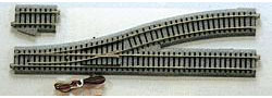 KATO Uni Track - HO / OO Gauge - Left Hand Electric Point 550mm Radius - K2-850