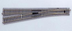 KATO Uni Track - HO / OO Gauge - Left Hand Manual Point 867mm Radius (HO/OO) - K2-862