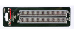 20-010 - KATO Uni Track - N Gauge - KATO Track Ground Level 186mm Straight Track (4)