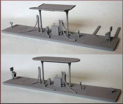 Knightwing Model Railway Kits - Cranes, Signal Boxes, Buildings