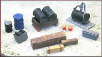 Knightwing Model Railway Metal Kits - Engineering Yard 1 - B24