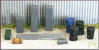 Knightwing Model Railway Metal Kits - Engineering Yard 2 - B25