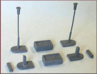 Knightwing Model Railway Metal Kits - Station Approach B - B44