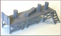 Knightwing Model Railway Metal Kits - Loading Stage Long - B53