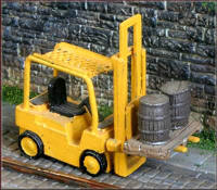 Knightwing Model Railway Metal Kits - Fork Lift Truck - B57