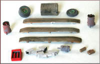 Knightwing Model Railway Metal Kits - Trackside Junk - B58