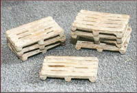 Knightwing Model Railway Metal Kits - Pallets - B64