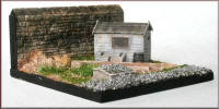 Knightwing Model Railway Metal Kits - Plate Layers Hut - B65