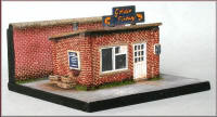 Knightwing Model Railway Metal Kits - Fish and Chip Shop - B66
