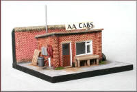 Knightwing Model Railway Metal Kits - Taxi Office - B67