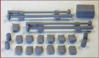 Knightwing Model Railway Metal Kits - Building Yard Pack - B74