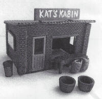 Knightwing Model Railway Metal Kits - Station General Store - B94