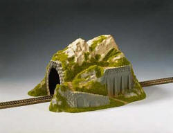 Noch - Straight Tunnel, Single Track, 34 x 25 cm - N02221