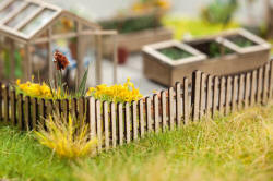 Noch - Laser Cut Minis - Timber Fence - N14230