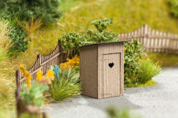 Noch - Laser Cut Minis - Outhouse Toilet - N14359