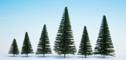 N26830 - Noch - Hobby Trees - Fir with Planting Pin 5-14cm (25)