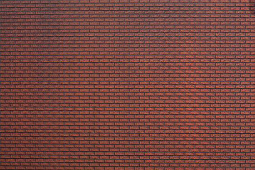 N55832 Noch Abs Texture Sheet Red Brick Wall New