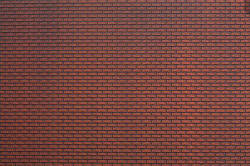 Noch - ABS Texture Sheet - Red Brick Wall - N55832
