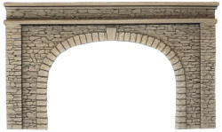 Noch - Double Track Portal - Natural Stone Walls - N58062