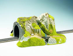 Noch - Straight Tunnel, Single Track, 34 x 27 cm - N02200