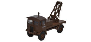 Oxford Diecast AEC Matador Wrecker - British Army SCC2 Brown - 76AEC018