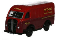 New Modellers Shop - Oxford Diecast - Austin 3 Way Van Wynns - 76AK013