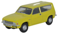 Oxford Diecast Austin Allegro Estate - Citron Yellow - 76ALL001