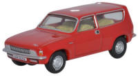 Oxford Diecast Austin Allegro Estate - Flamenco Red - 76ALL002