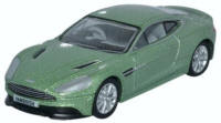 Oxford Diecast Aston Martin Vanquish Coupe - Appletree Green - 76AMV001