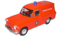 Model Railway Shop - Oxford Diecast Fire Anglia Van - 76ANG022