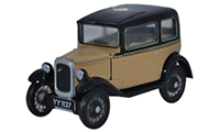 Oxford Diecast Austin Seven Saloon - Fawn - 76ASS001