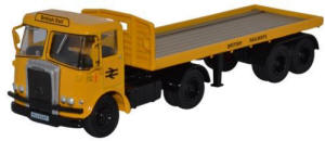 Oxford Diecast Atkinson Borderer Flatbed Trailer - British Rail - 76ATK003