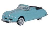 Oxford Diecast Austin Atlantic Convertible - Ming Blue - 76ATL004