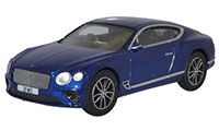 Oxford Diecast - Oxford Diecast Bentley Continental GT Peacock Blue - 76BCGT001