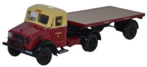 Oxford Diecast Bedford OX Flatbed Trailer - British Rail - 76BD020
