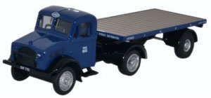 Oxford Diecast Bedford OX Flatbed Trailer - LNER - 76BD022