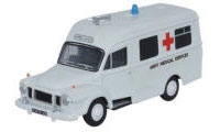 Oxford Diecast Bedford J1 Lomas Ambulance - Army Medical Services