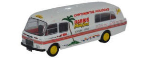 Oxford Diecast BMC Booking Office Harris Coaches - 76BMC004