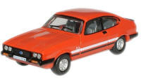 New Modellers Shop - Oxford Diecast - Sebring Red Ford Capri Mk3 - 76CAP004