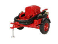 Oxford Diecast Coventry Climax Pump - Red - 76CCP003