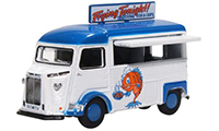 76CIT005 - Oxford Diecast Citroen H Van - Fish and Chips
